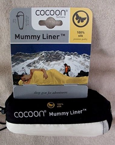 Cocoon Mummy Silk Sleeping Bag Liner