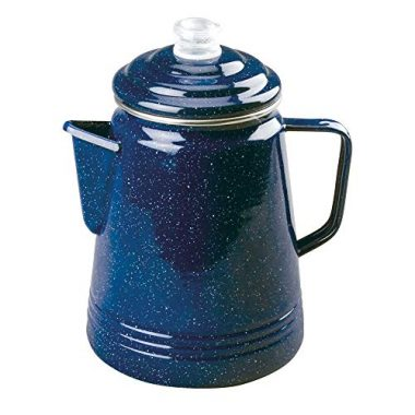 Coleman Enamelware 14 Cup Percolator Camping Coffee Maker