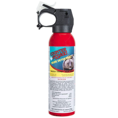Counter Assault 8.1oz Bear Deterrent Spray w/ Holster
