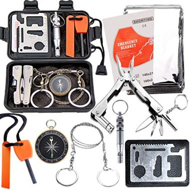 Survival Kit Outdoor Emergency Gear by EMDMAK
