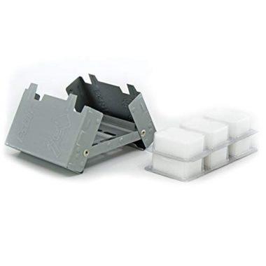 Esbit Ultralight Solid Fuel Pocket Backpacking Stove