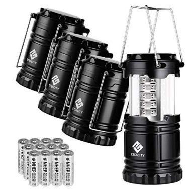 Etekcity 4 Pack LED Camping Lantern