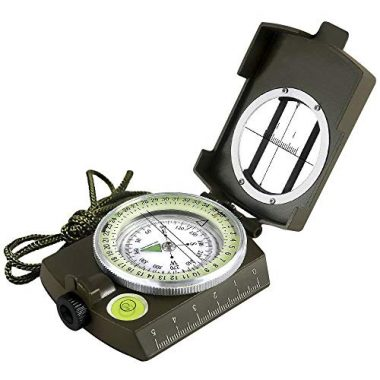 Multifunctional Military Aluminum Alloy Compass by Eyeskey