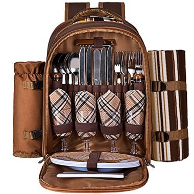 Ferlin Picnic Backpack for 4