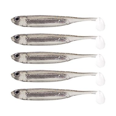 Fishcm Softbait Wiggle Shad Soft Plastic Swimbait Fishing Lure