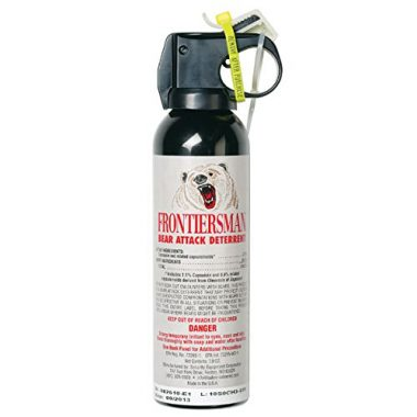 Frontiersman Bear Spray – Maximum Strength & Maximum Range
