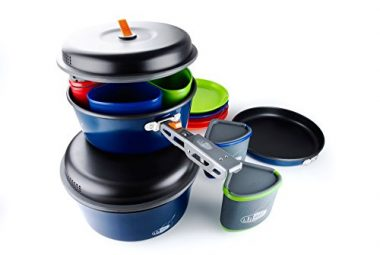 GSI Outdoors Bugaboo Camper Camping Cookware Sets