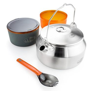 GSI Outdoors Glacier Stainless Ketalist Camping Cookware Sets