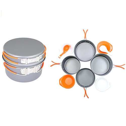Gas One Anodizing Aluminum Camping Cookware