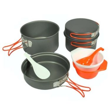Gas One Anodizing Aluminum Camping Cookware Sets