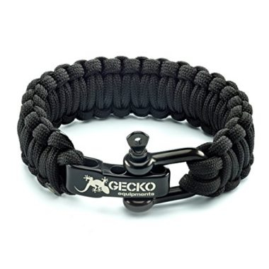 Gecko Equipment King Cobra Paracord Survival Bracelet