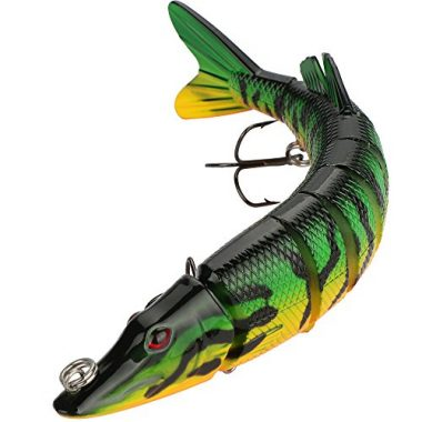 Goture Pike Muskie Multi Jointed Muskie Lure