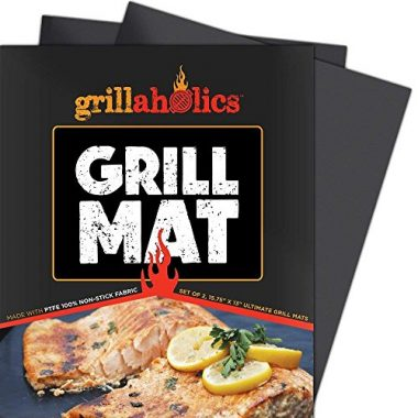 Grillaholics – Heavy Duty Non-Stick BBQ Grill Accessories