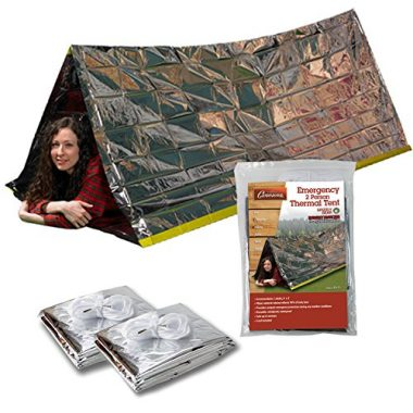 Grizzly Gear Emergency Survival Cold Weather Shelter Tube Tent