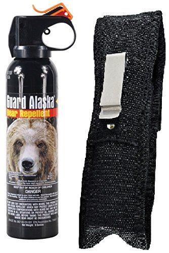 Guard Alaska 9 oz. Pepper Enforcement Belt Clip Holster Bear Spray
