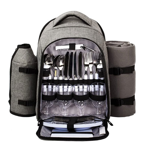 Hap Tim 4 Person Picnic Backpack