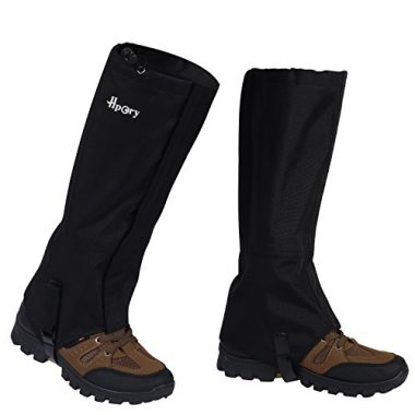 Hpory 1 Pair Hiking Leg Hiking Gaiters