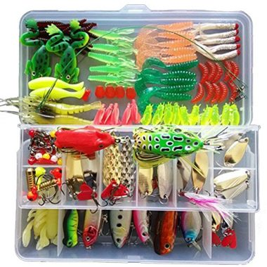 KMBEST Mixed Lots Crappie Baits