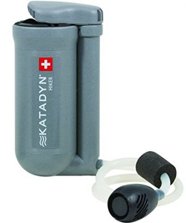 Katadyn Hiker Microfilter Backpacking Water Filter