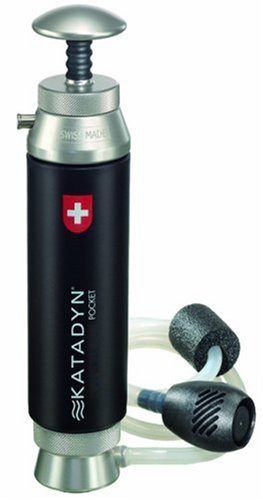Katadyn Pocket Microfilter Backpacking Water Filter