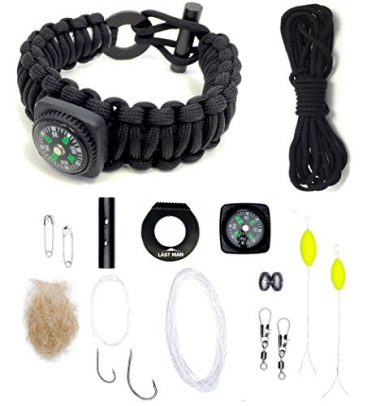 LAST MAN The Ultimate Paracord Survival Bracelet