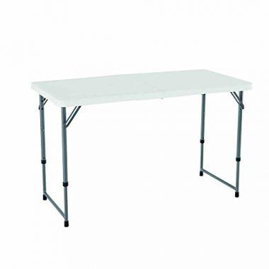 Lifetime Height Adjustable Folding Utility Table