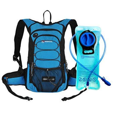 Hydration Backpack with 2L Water Bladder by MIRACOL
