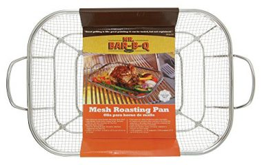 Mr. BBQ Stainless Steel Mesh Roasting Pan Grill Accessory