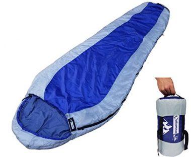 Saco de dormir para mochileros Momia de Outdoorman Lab