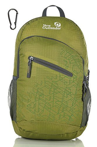 Outlander Ultra Lightweight Packable Water Resistant Hiking Daypack