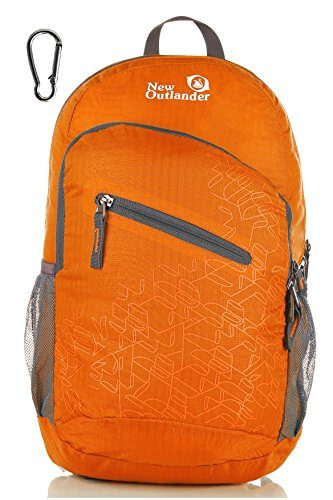 Outlander Ultra Lightweight Packable Water Resistant Travel Hiking Backpack