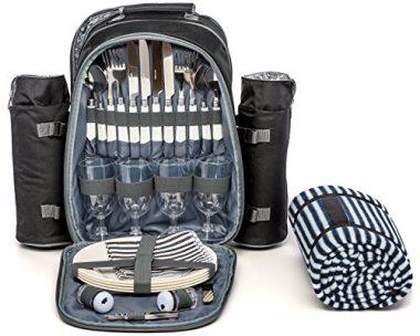 Mister Alfresco Picnic Backpack for 4