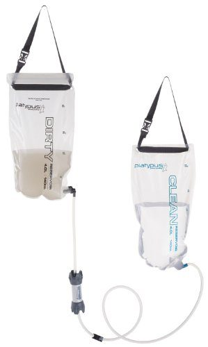 Platypus GravityWorks 4.0 Liter High-Capacity Backpacking Water Filter