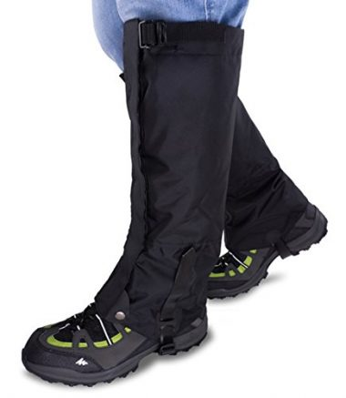 Qshare High Leg Hiking Gaiters