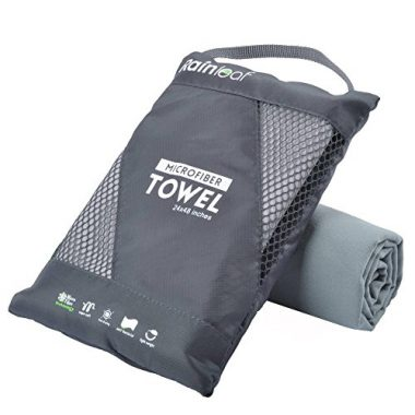 Microfiber Camping Towel by Rainleaf
