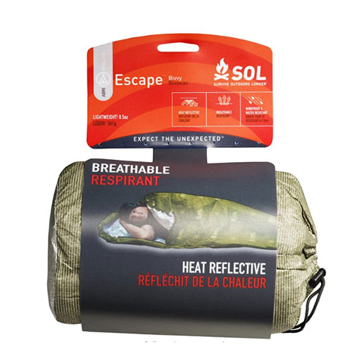 Survive Outdoors Longer S.O.L. Reflective Escape Bivy Sack