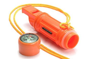 SE CCH5-1 5-in-1 Whistle Survival Gear
