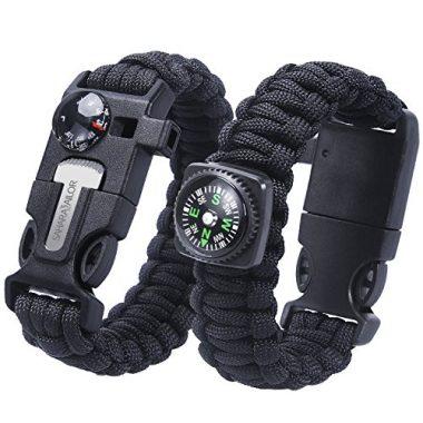 Sahara Sailor 2 Pack Paracord Survival Bracelet