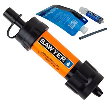 Sawyer Products Mini Backpacking Water Filter