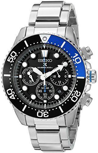 Seiko Prospex Analog SSC017 Solar Watch