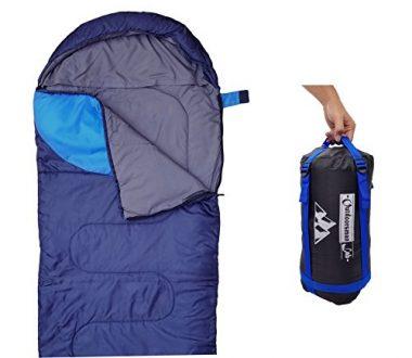 Outdoorsman Lab Lightweight Backpacking Sleeping Bag