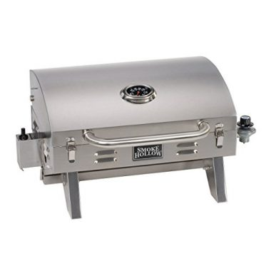 Smoke Hollow 205 Stainless Steel TableTop Propane Camping Grill