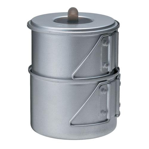 Snow Peak Mini Solo Titanium Camping Cookware