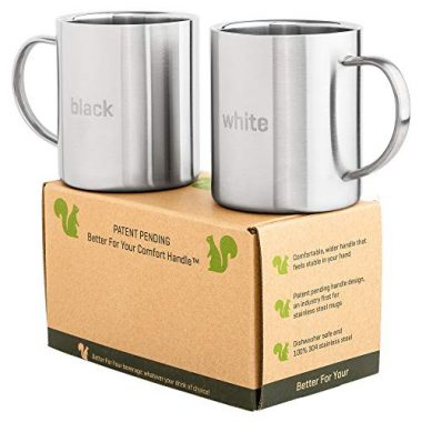 Stainless Steel Coffee Mugs by Better For Your
