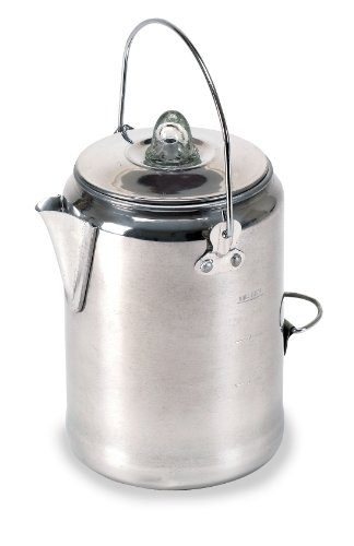 Stansport Aluminum Percolator Camping Coffee Maker
