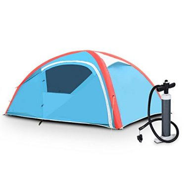 Inflatable Outdoor Tent by TANGKULA
