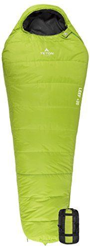 TETON SPORTS LEEF Ultralight Mummy Backpacking Sleeping Bag