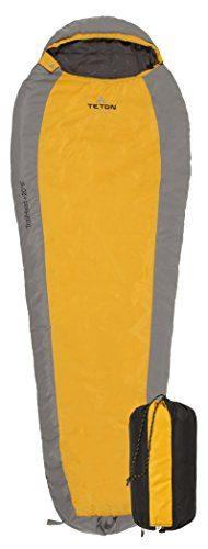 TETON Sports TrailHead Saco de dormir para mochilas ultraligero para momias