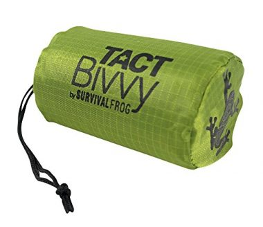 Tact Bivvy Emergency Thermal Bivy Sack by Survival Frog