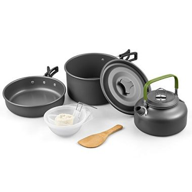 Camping Cookware by Terra Hiker